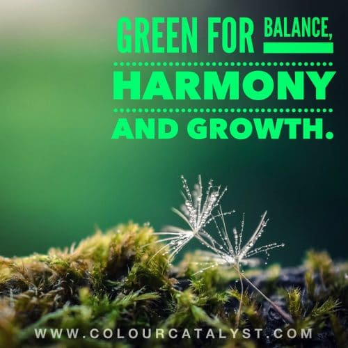 Green Colour Catalyst