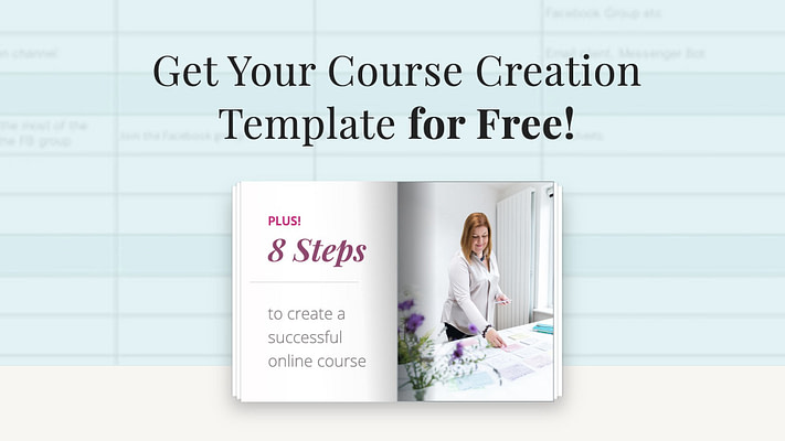 Course Creation Template SignUp