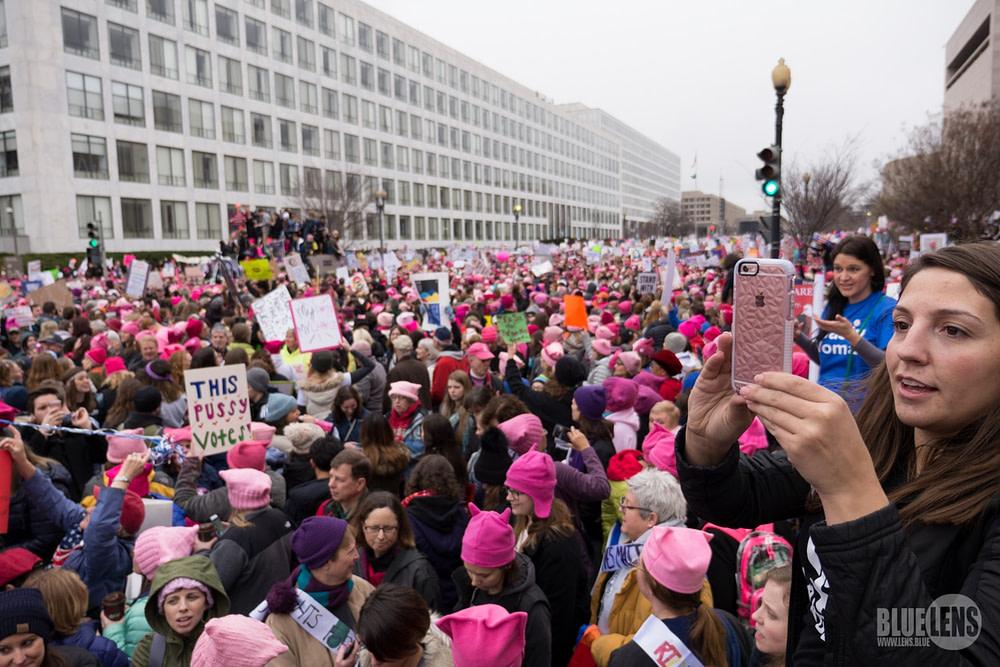 Trump WomensMarch 2017