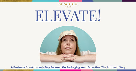 Elevate! Live Mastermind day with Susanna Reay