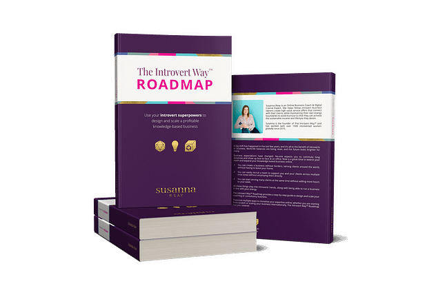 The Introvert Way Roadmap by Susanna Reay