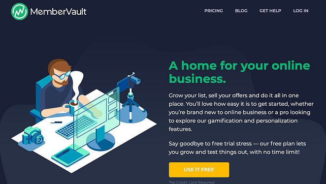 MemberVault Home Page