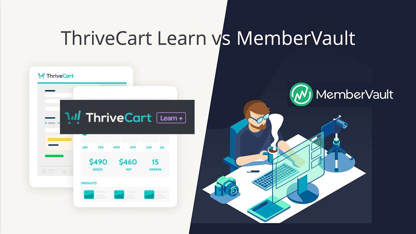 Thrivecart Learn vs MemberVault Review